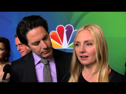 ALLEGIANCE: Scott Cohen & Hope Davis NBC Upfronts TV Interview