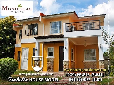 Isabella house at monticello villas iloilo youtube for Isabella house