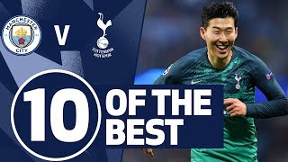 10 OF THE BEST | SPURS BEST GOALS V MAN CITY | Ft. Son, Bale, Dier and Crouch!