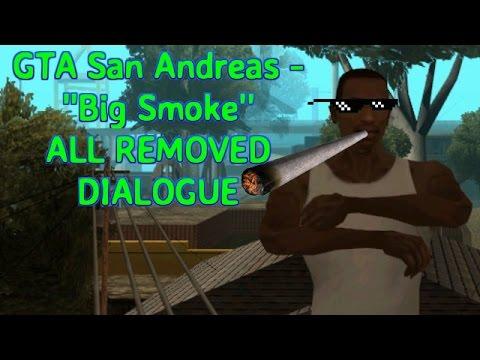 GTA San Andreas ''Big Smoke'' ALL REMOVED CONTENT RESTORED