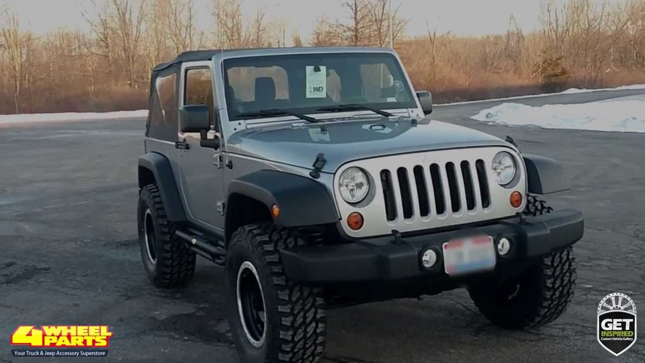 Jeep Jk 37 >> Jeep JK Wrangler Sport Parts Columbiana, OH 4 Wheel Parts - YouTube