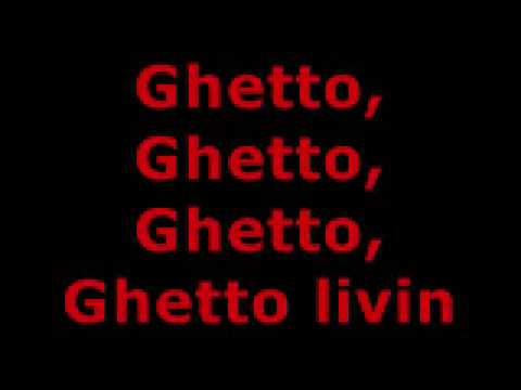 AKON  GHETTO LYRICS