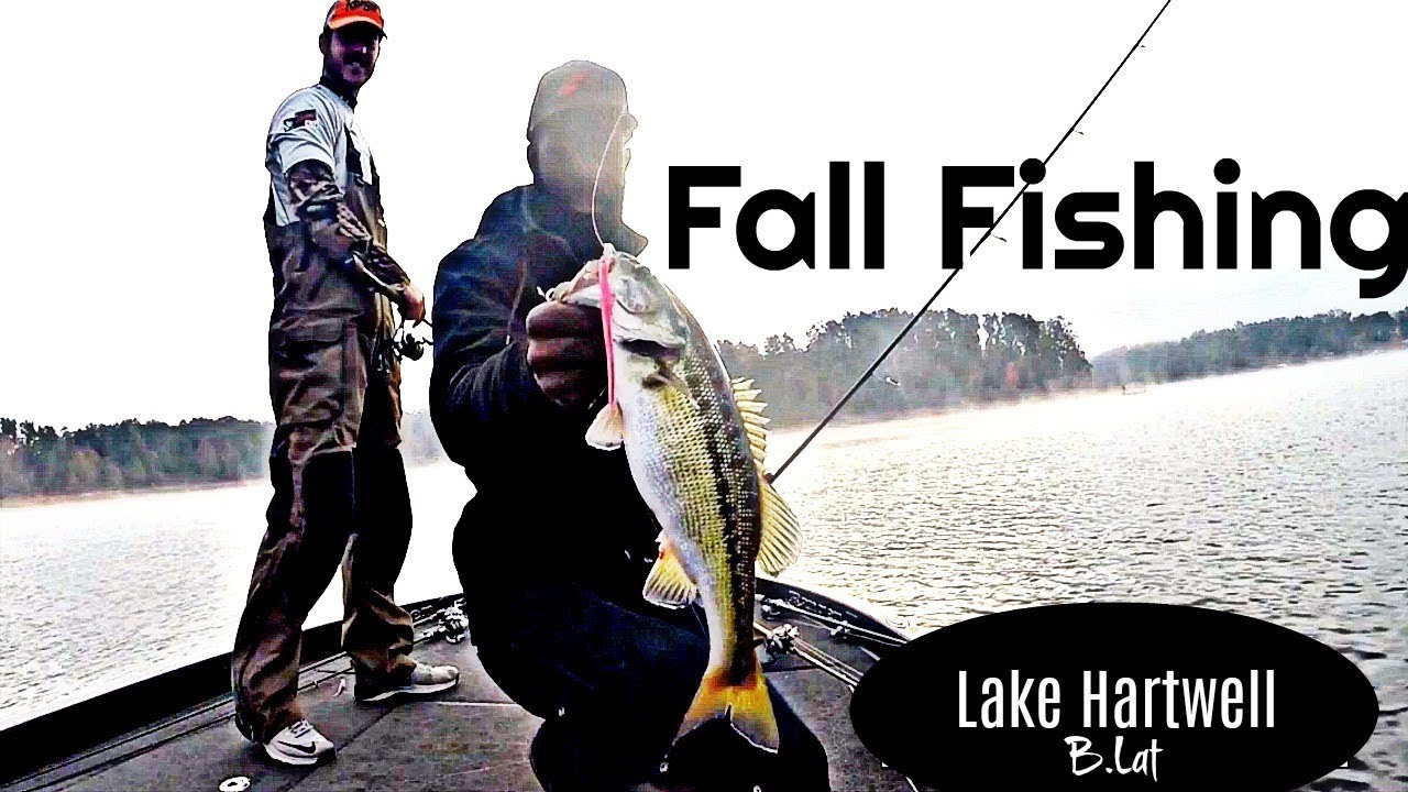 Fall fishing on lake hartwell youtube for Lake hartwell fishing report