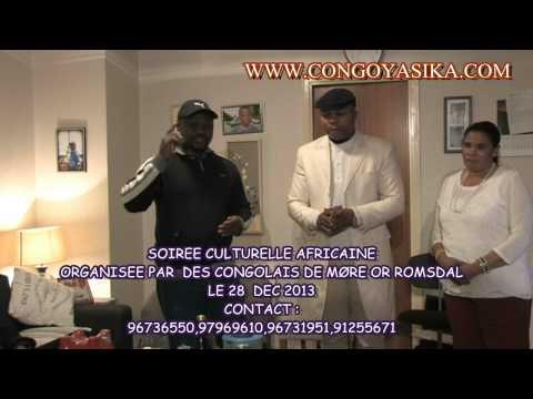 Soirée culturelle congolaise le 28 dec 2013 à Møre og Romsdal
