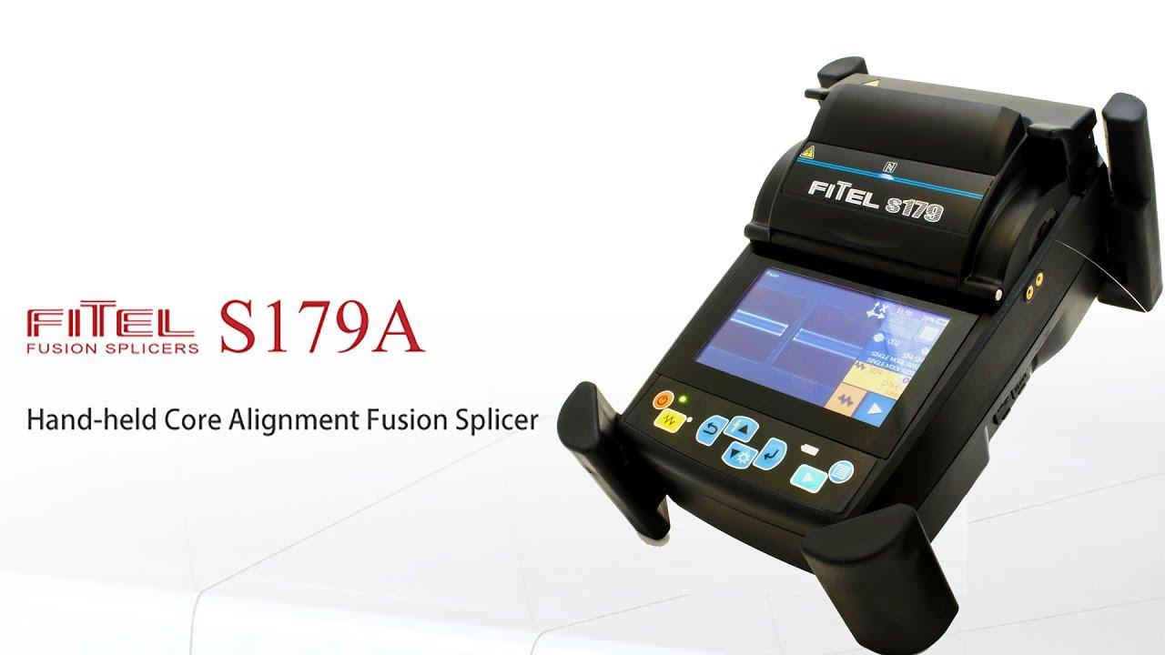 Fitel S179 Hand Held Core Alignment Fusion Splicer New For 2017 Ai 7 Automatic Intelligent Optical Fiber