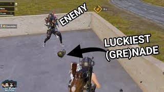 LUCKIEST (GRE)NADE FOR SQUAD | FUNNY MOMENT | PUBGMOBILE | TamilGamingBrothers |
