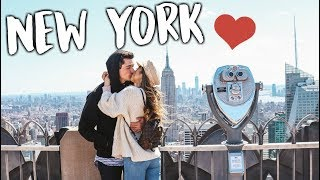 WHAT WE DID IN NEW YORK! + WHEN WE GOT HOME!
