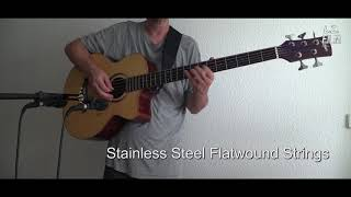 Roundwound Vs Flatwound Strings Five String Acoustic