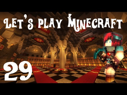 Let's Play Minecraft 1.8 - Ep 29 : Salle des coffres (2/2)