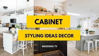 65  Amazing Cabinet Styling Ideas Decor For Your Room