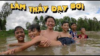 Anh Ba Phải | Dạy Bơi Cho Thật Ghẻ - Một Ngày Uống No Nước Sông | Learn To Swim