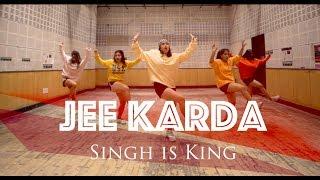 Jee Karda | Singh Is King | Dance Choreography | Akanksha Sharma