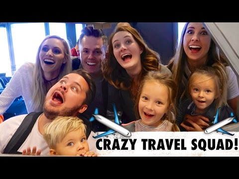 ✈️CRAZY TRAVEL FRIENDS! - Daily Bumps + Ellie and Jared