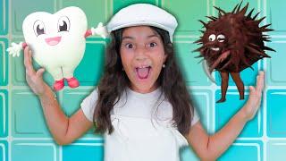 Escove o Dentinho - Yasmin Verissimo - Música Educativa Infantil