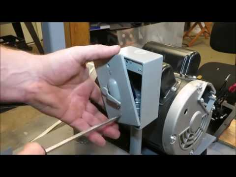 wiring a smith and jones 1 1/2 hp motor - YouTube