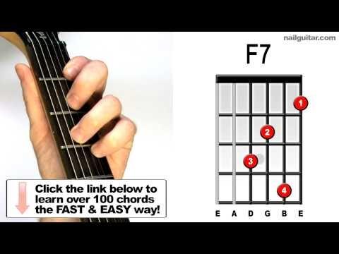 F7a Guitar Chord Worshipchords