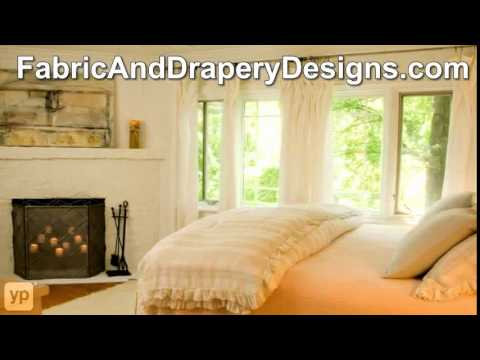 Fabric and Drapery Designs Denver NC Window Treatments