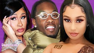 Offset's former side chick exposes him! | Cardi B and Offset attempt to cover it up?