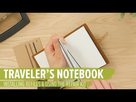 How to Install & Customize TRAVELER'S notebook