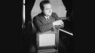 Beniamino Gigli sings Bizet - Del tempio al limitar, from The Pearl-Fishers