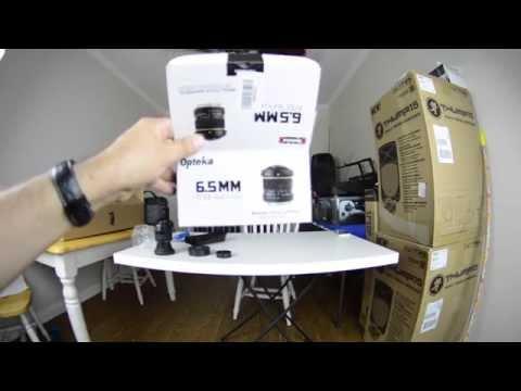 Opteka 6.5mm Fisheye Lens (NIKON) Unboxing/Quick Test