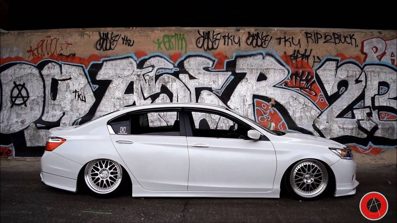 9Th Gen Accord >> Danny S Bagged 9th Gen Accord Youtube