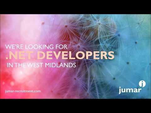 .NET Developer positions July 2017