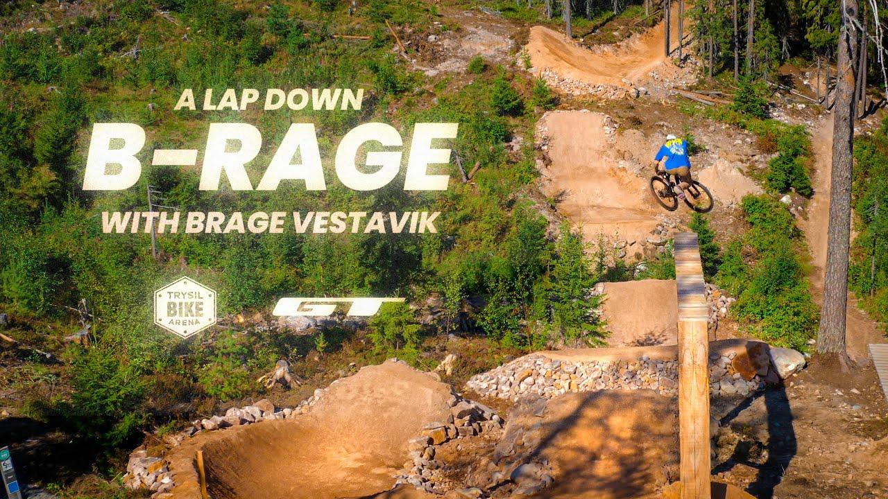 A Lap Down B-Rage with Brage Vestavik