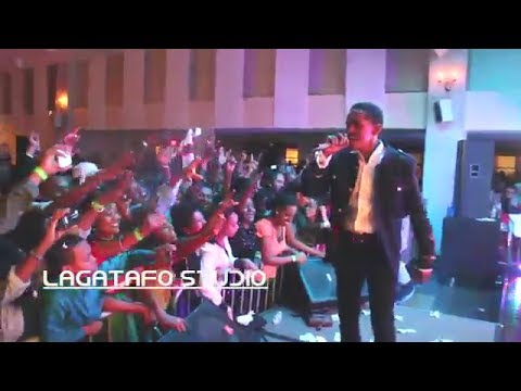 Hachalu Hundessa @ Washington DC (Oromo Music 2013 New)