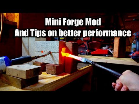 Mini Forge Questions Answered and Tips - Knife Making Forge
