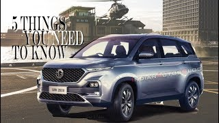 All-new MG Hector | First look | Luxury SUV from China's largest automobile manufacturer