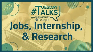 How to Land an AWESOME Job, Internship, or Research Position   #TuesdayTalks