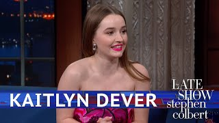 Kaitlyn Dever Met Kristin Wiig And Blanked