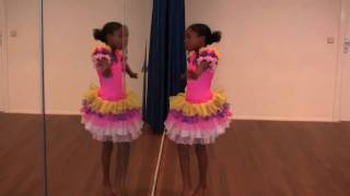 Aerobic World Dance - Jaimaira sleeping girl, dancing like a little bird Thumbnail