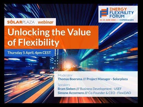 Solarplaza Webinar: Unlocking the Value of Flexibility