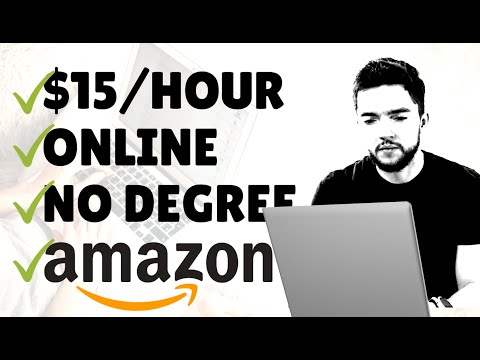 Easy Amazon Work-From-Home Jobs ($15 Hour) Hiring for 2020