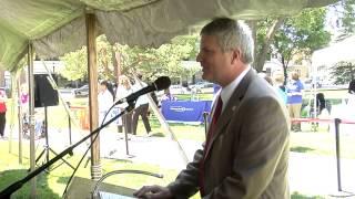 Sen. Hansen addresses seniors at Older Michiganians Day