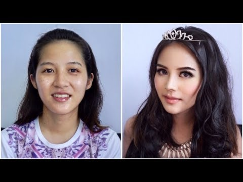 Yaya Urassaya Makeup Transformation : แต่งหน้าสไตล์ญาญ่า อุรัสยา: Facebook : https://www.facebook.com/Monkey-sis-196596517527262/  ซื้อเซรัม+บีบีสมูทโตะได้ที่เซเว่น หรือสั่งซื้อได้ที่ FB : smootojapan Line : @smootojapan IG : smootojapanofficial  Products Used : Smooto Tomato Collagen White Serum Smooto Tomato Collagen BB&CC Cream Estee Lauder Double Wear Stay-In-Place Makeup SPF 10 URBAN DECAY Naked Skin : Weightless Complete Coverage Concealer Laura mercier Translucent Loose Setting Powder Sivanna Colors Eyebrow Powder Lorac Pro Contour Kit Gino McCray Pink Passion Jelly Eyeshadow #04 TheBalm Mary-Loumanizer RIMMEL Scandaleyes : Waterproof Kohl Kajal Jordana Cosmetic Best Lash Extreme Volumizing Mascara Wet n Wild Color Icon™ Lipliner - Willow TheBalm Balm Stain - Lace   Music : Pazzo & Prince Feat. Skye Light - Atlantis [UXN Release]