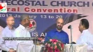 IPC Kumbanad 89th Convention 2013  Friday(Day- 6) - Worship Songs, Message