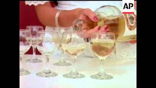 WINE POURED INTO GLASSES - NO SOUND - COLOUR