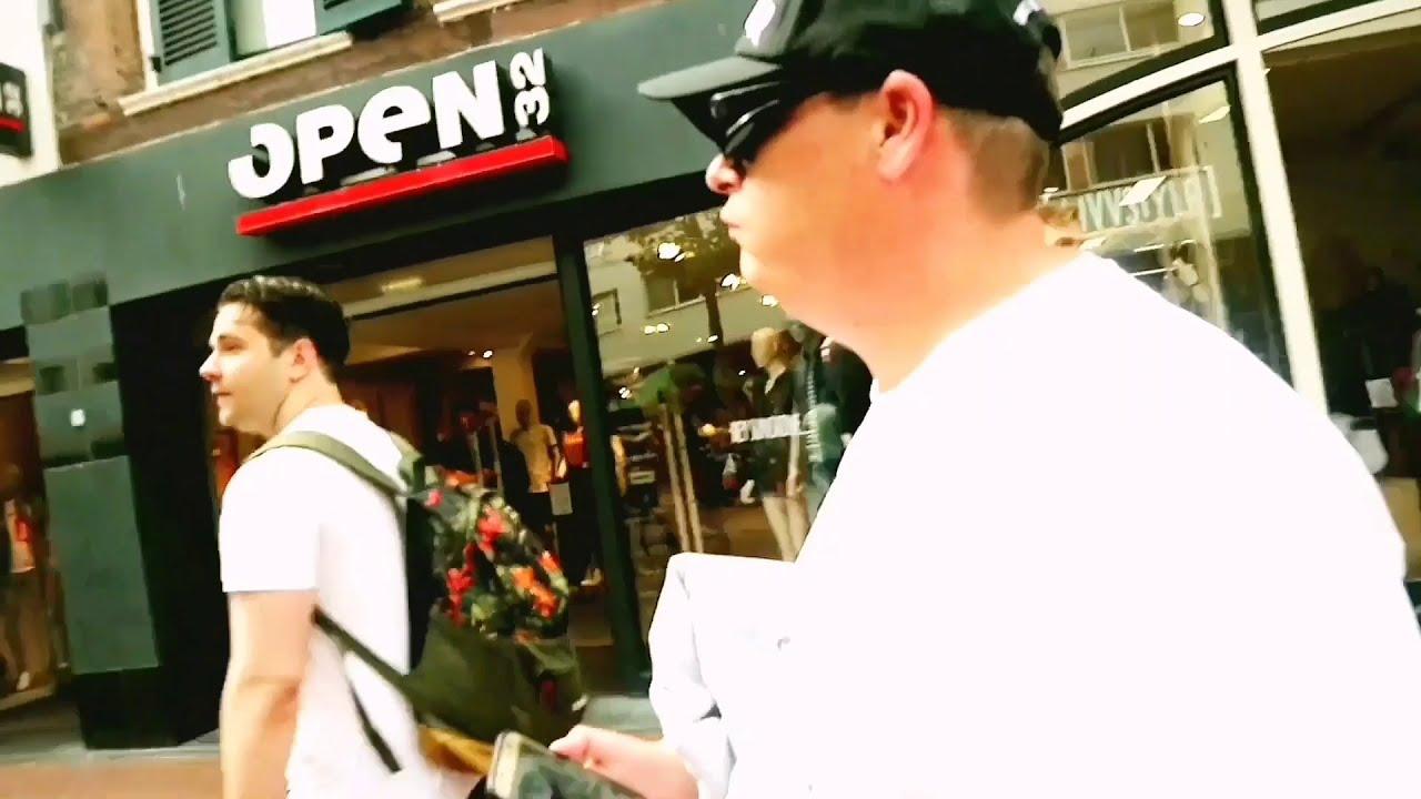Vlogger Tyas volgt Udo de Beatboxer Centrum Nijmegen