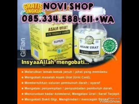 Jual Obat Asam Urat Super ATH Thibbun Nabawi Herbal Asli Harga Murah 085334588611+WA