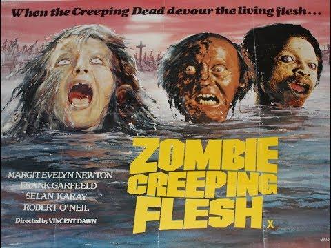 ZOMBIE CREEPING FLESH 1980 Bruno Mattei UNCUT BluRay '88 Films Ltd Slip Cover Edition