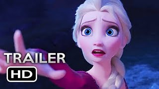 FROZEN 2 Official Trailer 2 2019 Disney Animated Movie HD