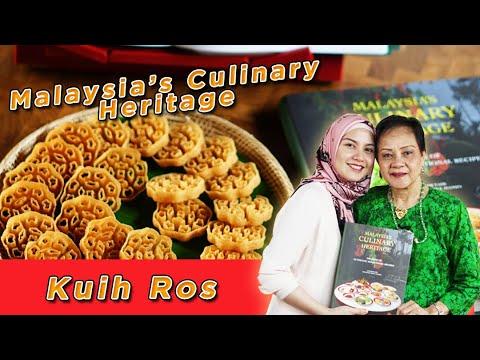 Cara Buat Kuih Loyang / Kuih Ros Bersama Lisa Surihani | iCookAsia