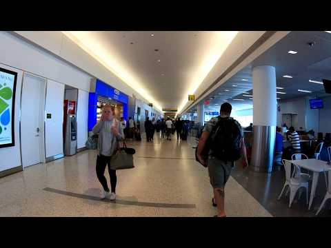 ⁴ᴷ⁶⁰ Walking John F. Kennedy (JFK) International Airport Terminal 5, NYC (JetBlue Terminal)