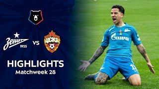 Highlights Zenit vs CSKA (3-1)