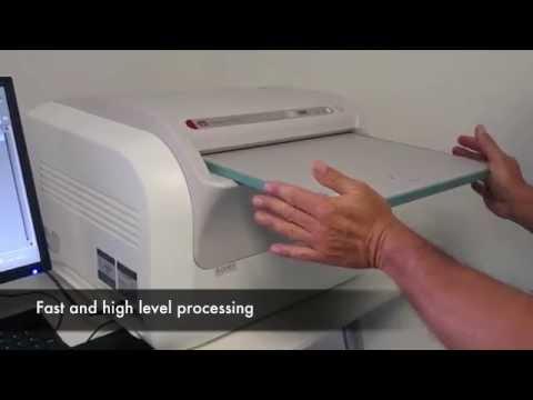 Computed radiology CR Divario T2 - HUMAN or Veterinarian digital imaging