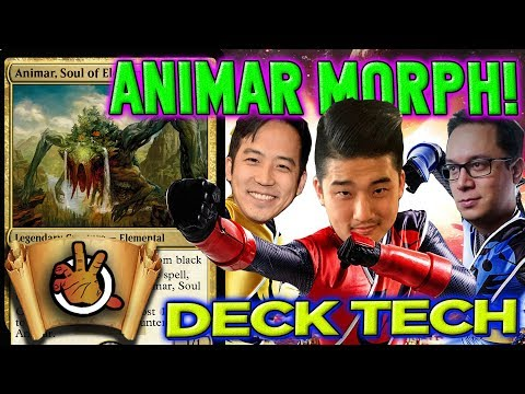 Animar Morph Deck Tech with Vinny l The Command Zone 202  Magic: the Gathering CommanderEDH