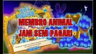 COMO SER MEMBRO NO ANIMAL JAM SEM PAGAR ASSINATURA!! ( FREE ANIMAL JAM MEMBERSHIP) English Subtitles